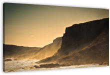 Robberg Nature Reserve wanddecoratie. The Robberg Peninsula is a nature reserve and national monument that lies about 8 km south of Plettenberg Bay, a prestigious coastal resort on South Africa's famous Garden Route.